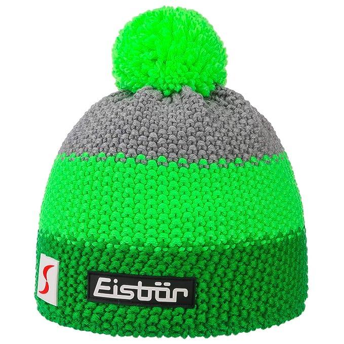 Eisbär Star Neon Cuffia PON PON Cappelli da Sci Beanie Invernale Taglia  Unica - Verde aca0ec95b4f9