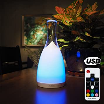 Lampe Chevet Led Rechargeable Tactile Et Telecommande Aglaia Lampe