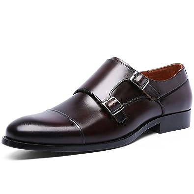 51f60becd2b401 DESAI Chaussures à Boucle de Ville Homme: Amazon.fr: Chaussures et Sacs