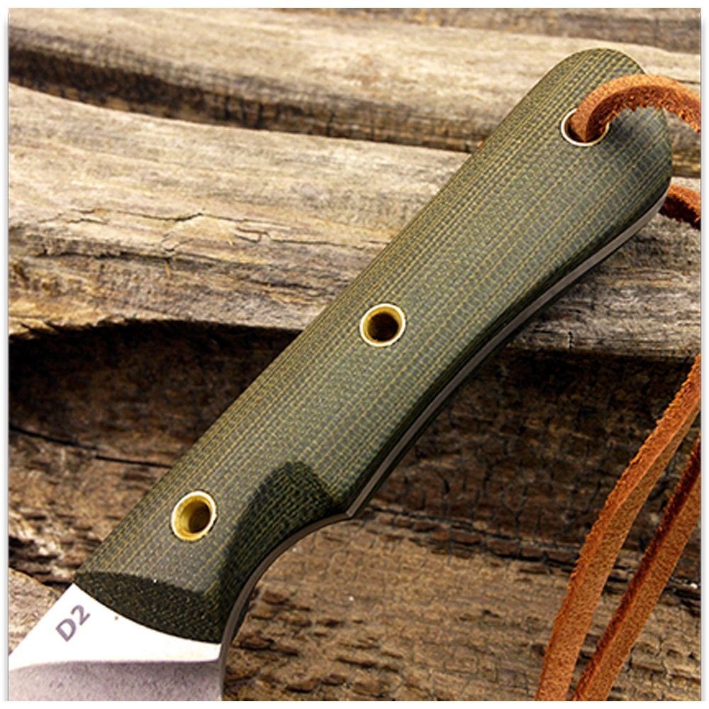 Amazon.com: Smith & Sons Brave Pulido, Micarta Caza Cuchillo ...