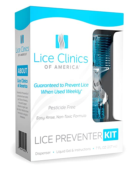Lice Preventer Kit Guaranteed to Prevent Head Lice Infestation– Safe, Non-Toxic & Pesticide Free
