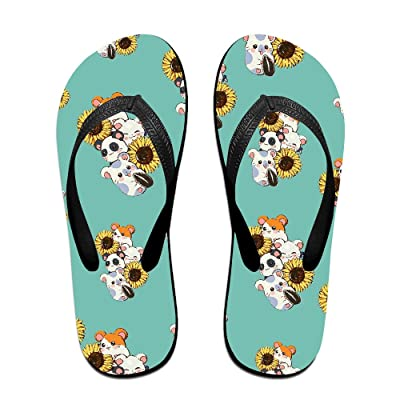 Adorable Mouse Men Women Comfort Flat Flip Flops Sandals Beach Slipper
