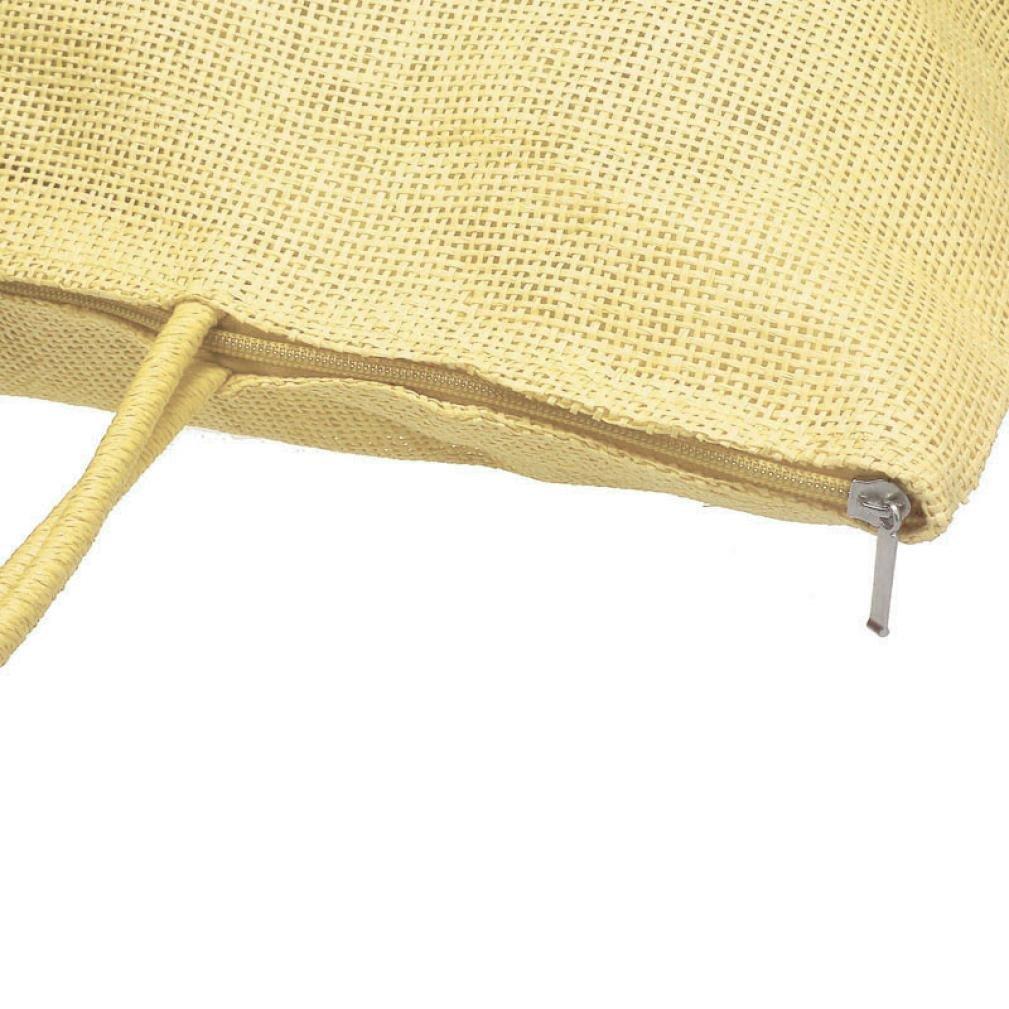 ❤️ Femme Cabas Sac Amlaiwolrd Grands Sacs de Plage de Paille Sacs de Couleur Bonbon Femme Sac /à Bandouli/ère D/écontract/é