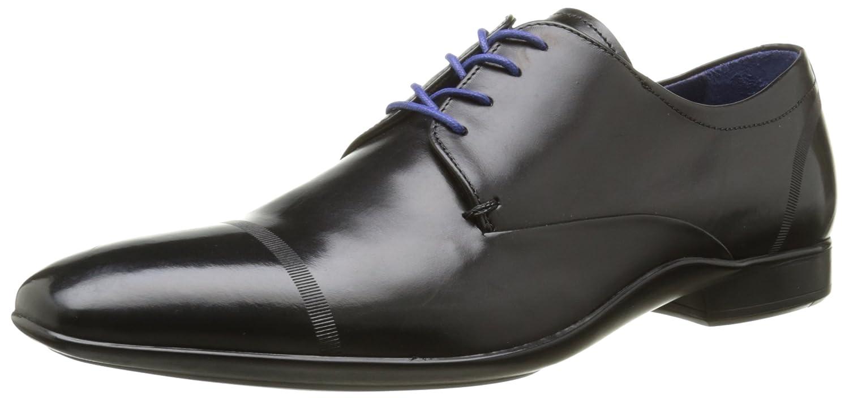 AZZARO Oussa, Chaussures lacées Homme Derby Homme Noir 41 EU HM60202