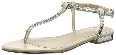 811625d7d6b Aldo Women's Diamante Bone Fashion Sandals - 3 UK/India (36 EU)(6 US ...