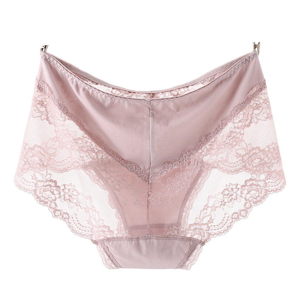 QincLing Femmes lot de 4 Sexy Slip Grande Taille culotte modal avec dentelle  ( M-3XL )  Amazon.fr  Vêtements et accessoires 03f3cbd0dbb