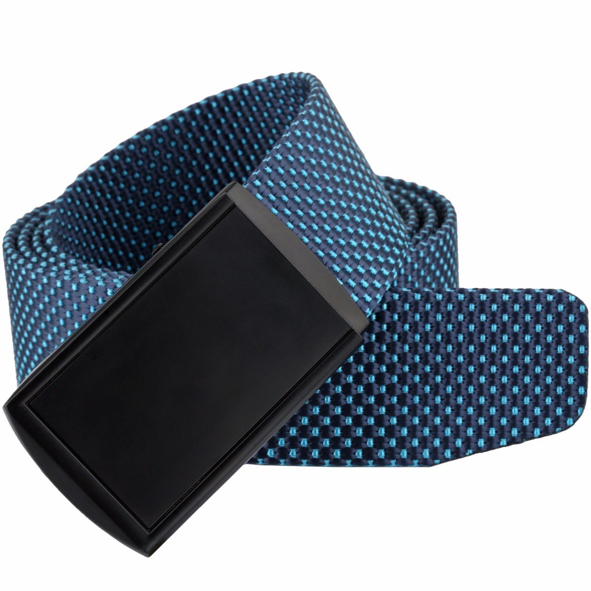 squaregarden Tactical Duty Belts for Men, Military Style Casual Nylon Webbing Belt