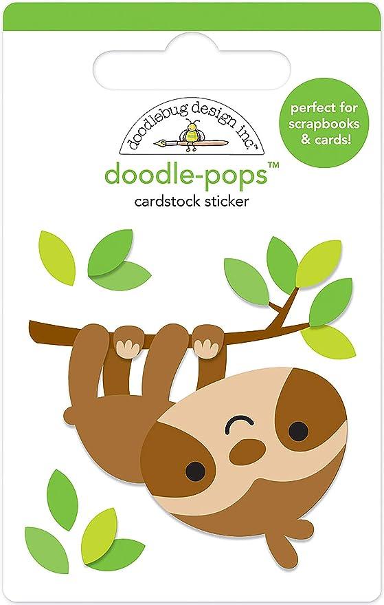 Doodlebug Design Winter WOnderland Doodle-Pops 3 D Sticker