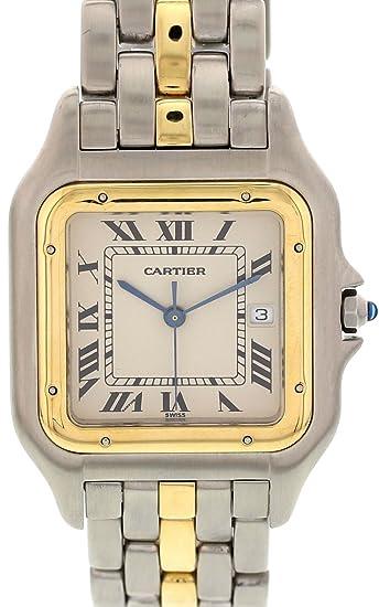 Cartier Reloj De Cuarzo Jumbo Panthere 183957 para Mujeres: Cartier: Amazon.es: Relojes