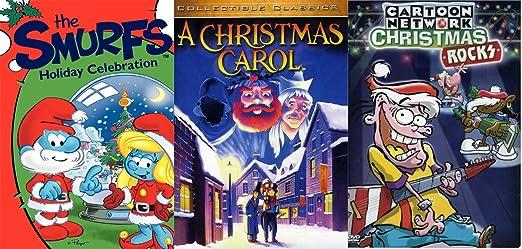 Christmas Celebration Cartoon Images.Amazon Com Rocking Celebrations 3 Dvd Animated Christmas
