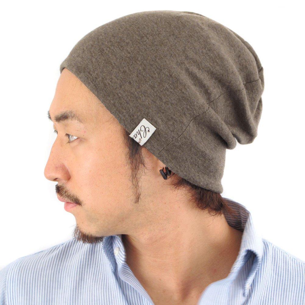 CHARM Casualbox Organic Cotton Beanie Made in Japan Slouchy Warm Knit Cap