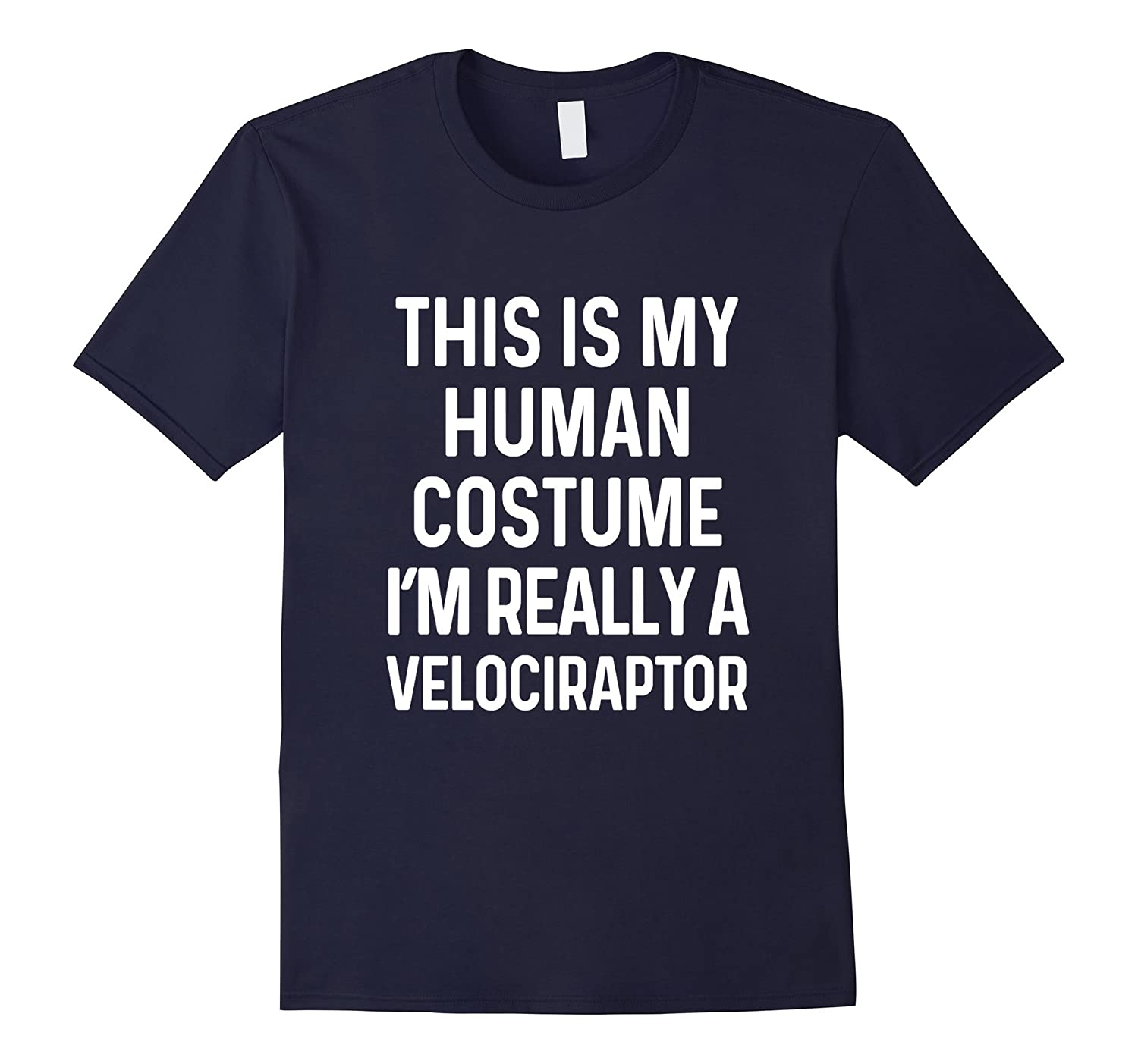 Funny Velociraptor Costume Shirt Halloween Men Women Kids-T-Shirt