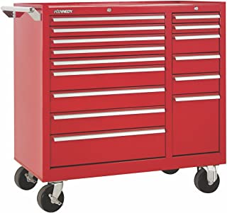 """product image for Kennedy Manufacturing 315XR 15-Drawer Rolling Tool Storage/Chest//Box Cabinet/Sliding Drawers, 39"""", Red"""