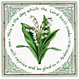 """Literary Calligraphy """"Lily of The Valley"""" Biblical Art Print by Susan Loy"""