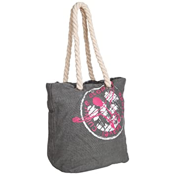 0ecec4ec0232 Chiemsee Canvas   Beach Tote Bag Hiva Green (THYME) 5060601  Amazon ...