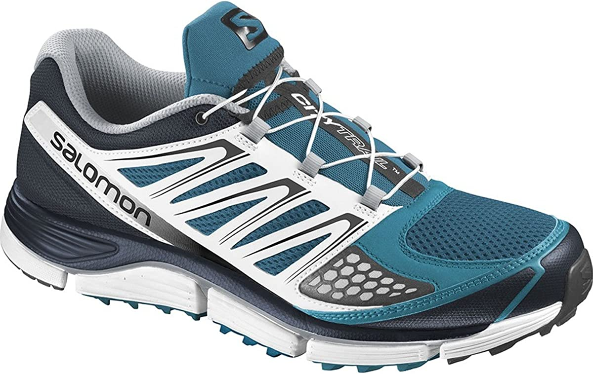 Zapatillas para trail running Salomon X-Wind Pro azul para hombre ...