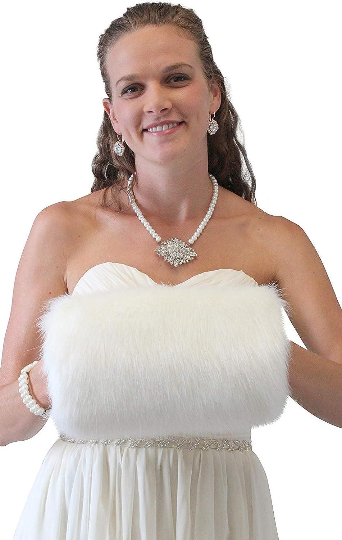 Tion Women's Faux Fur Handmuff