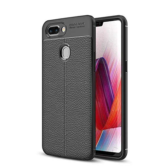 cheap for discount a4fd3 598c6 Amazon.com: Oppo R15 Pro Case, SsHhUu Soft TPU PU Leather Silicon ...