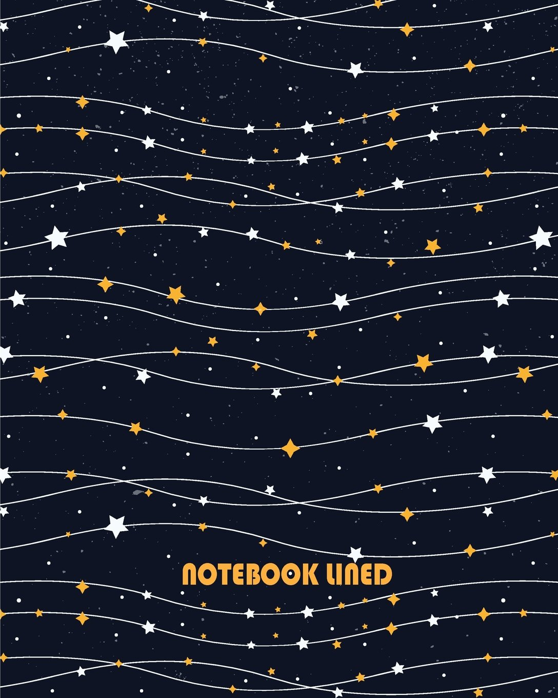 """Download Notebook Lined: Blue star pattern: Notebook Journal Diary, 120 pages, 8"""" x 10"""" pdf"""