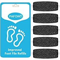 PAFOWO 5 Extra Coarse Replacement Roller Refill Heads Compatible With Amope Pedi Perfect Electronic Foot File with Diamond Crystals