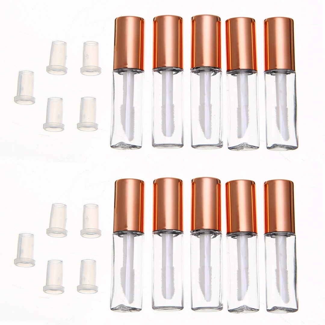 1.2 ML Empty Lip Gloss Tubes Lip Balm Containers Bottle (10 PCS) NaroFace