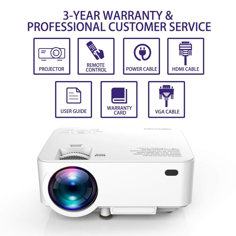 DBPower T20 Video - Proyector: Amazon.es: Electrónica
