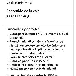 NAN SUPREME 1 - Leche para lactantes en polvo Premium - Fórmula ...