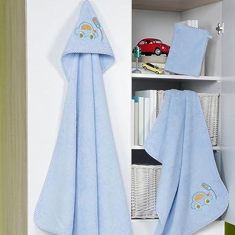 Ross Niños bebé, de toallas (Toalla con capucha en distintos motivos Auto lavado Guante