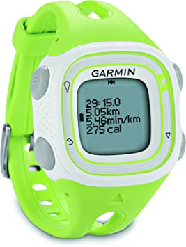 Garmin Forerunner 10 Reloj GPS Producto refurbish, Blanco y Verde, Talla única: Amazon.es: Deportes y aire libre
