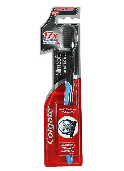 Colgate Cepillo de dientes, color negro: Amazon.es: Salud y cuidado personal