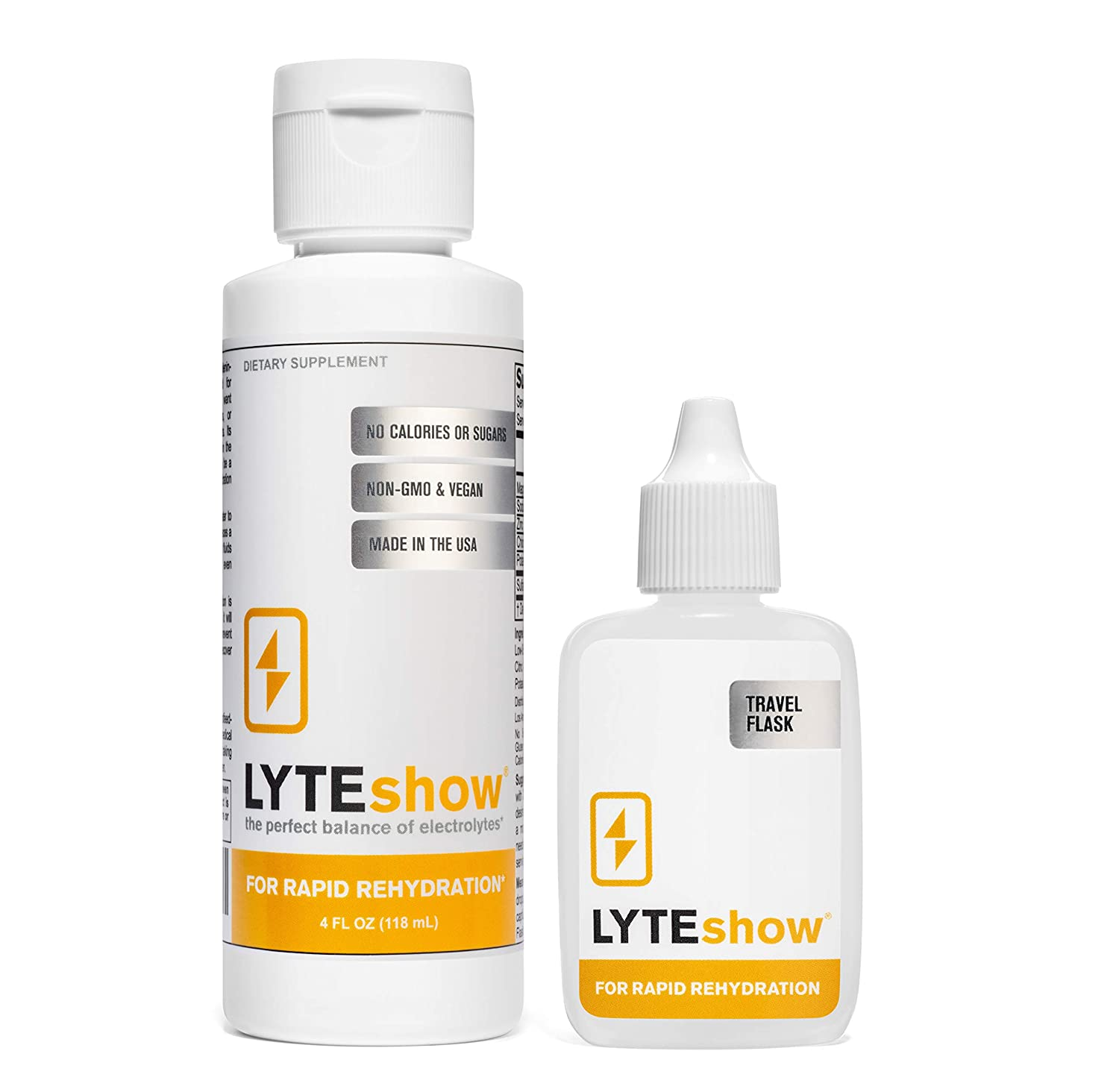 LyteShow: Ionic Electrolyte Concentrate for Rapid Rehydration (40 Servings)