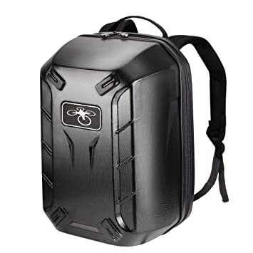 NEW BLACK HARDSHELL BACKPACK CASE For DJI Phantom 4 3 Pro Advanced RC QUADCOPTER