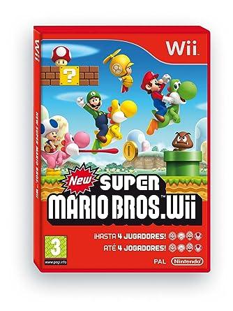 New Super Mario Bros Nintendo Wii Amazon Es Videojuegos