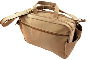 2fe0682073cc BeSafeBags Super Traveler Under Seat Anti-Theft Carry On Boarding Bag  (Taupe)