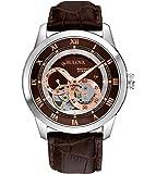 Bulova Automatic Analog Brown Dial Men's Watch - 96A120