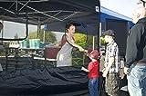 E-Z UP SPFM104TCBK 10' Food Service Vendor Screen