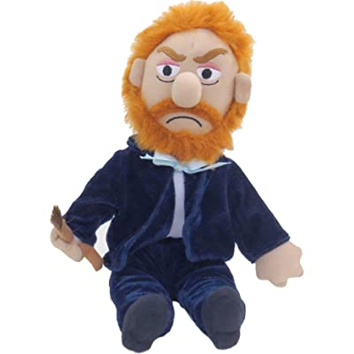 """The Unemployed Philosophers Guild Vincent Van Gogh Little Thinker - 11"""" Plush Doll for Kids and Adults: Toys & Games"""