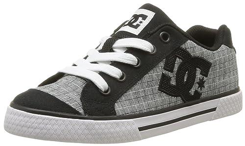 DC Shoes Chelsea J Shoe Kws - Zapatillas de skateboarding para mujer gris Gris (Blk/Wht Stencil) 36: Amazon.es: Zapatos y complementos