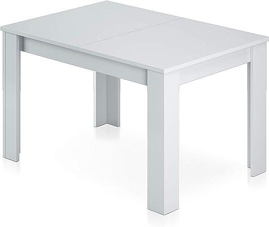 Habitdesign - Mesa de comedor extensible de 140 a 190 cm, medidas ...
