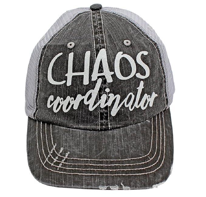 ec6693a9b32 BHW Chaos Coordinator In White Glitter Print Women's Trucker Hat ...