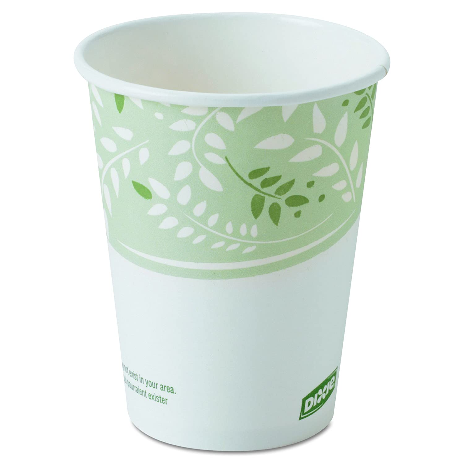 Amazon com: Dixie 8 oz  EcoSmart Paper Hot Coffee Cups w