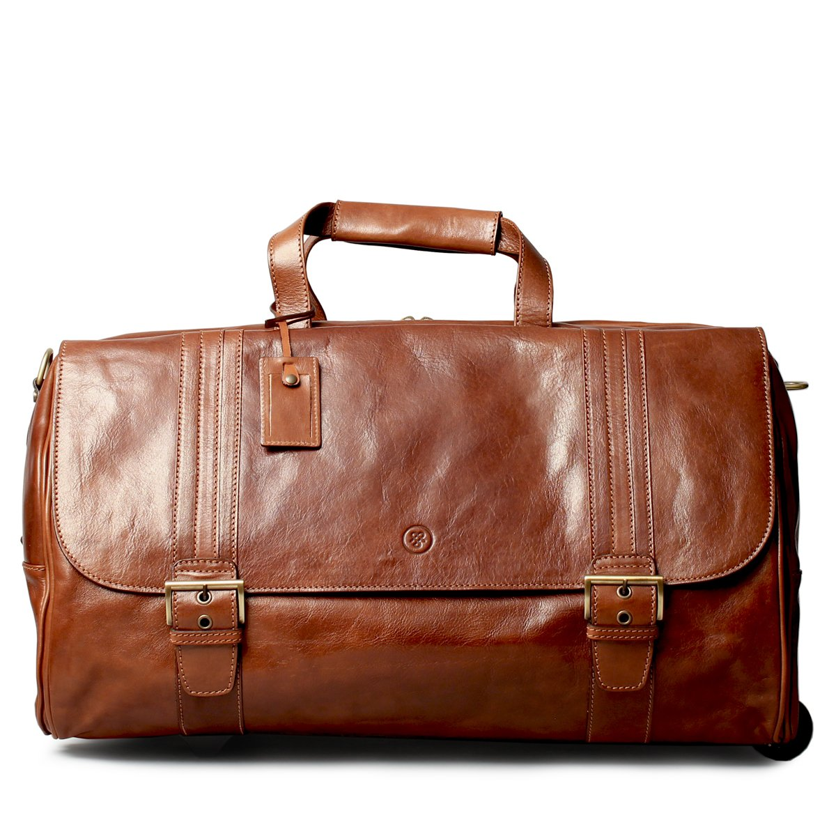 Maxwell Scott© Luxury Fine Leather Luggage (The DinoL) - Large