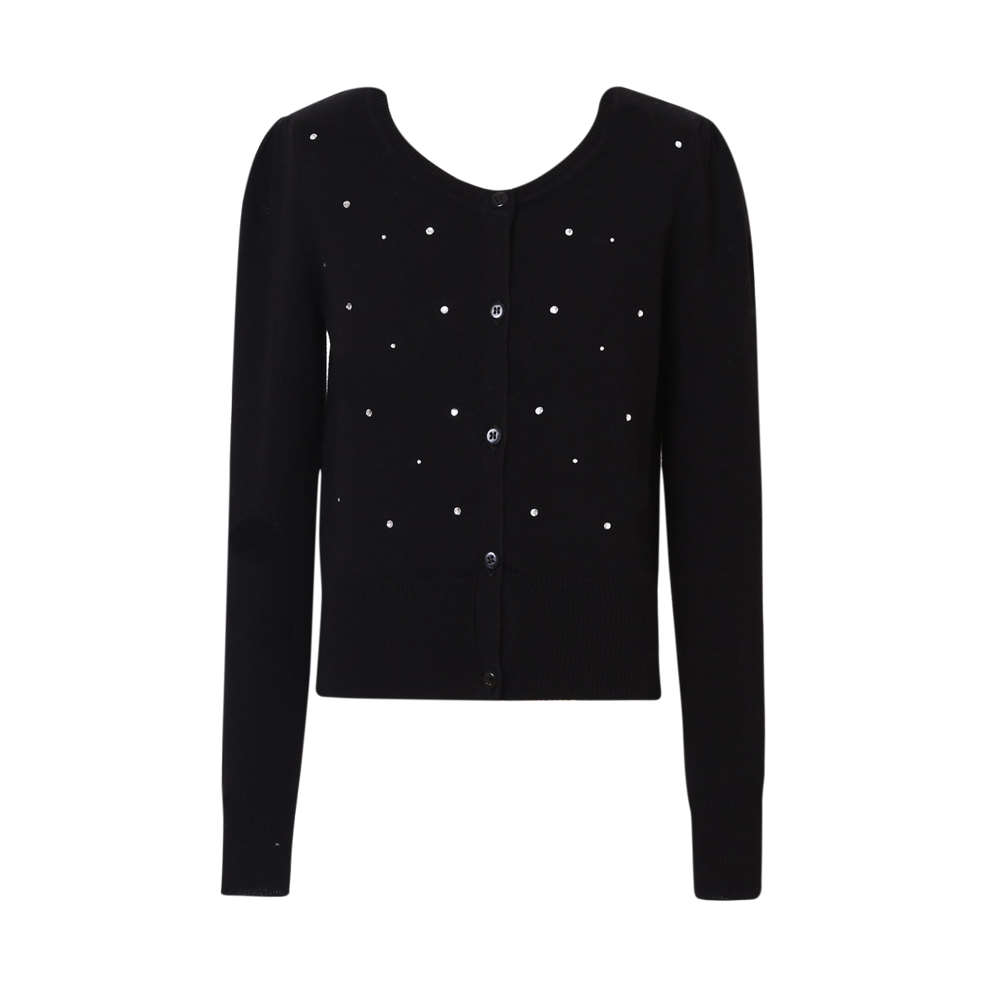Richie House Big Girls' Sweater Cardigan with Shiny Studs RH1016-H-9/10