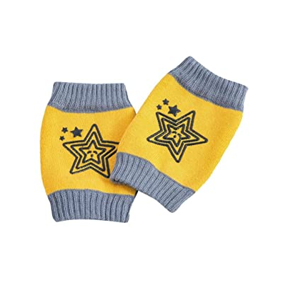 Baby Crawling Anti-Slip Knee, Voberry Cute Baby Safety Crawling Elbow Cushion Toddlers Knee Pads