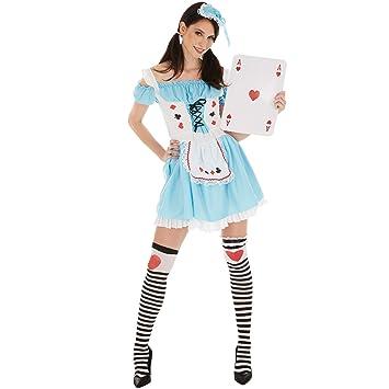 dressforfun Disfraz de Alicia para Mujer  89348b4e60b