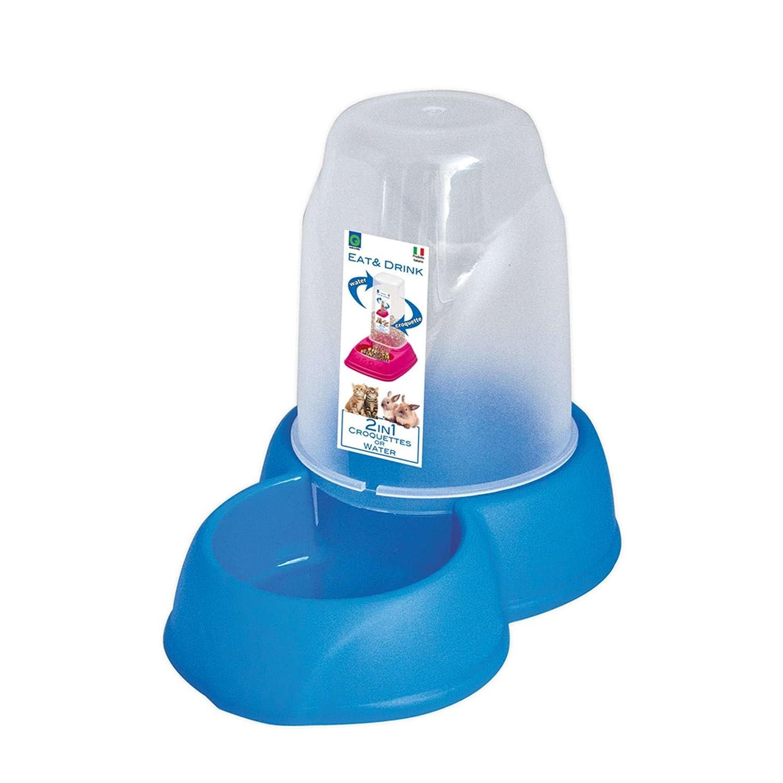 GP GP10089 Tolva Antideslizante con Comedero y Bebedero Mediano: Amazon.es: Productos para mascotas