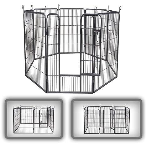 zoomundo Parque Perros Jaula Plegable Mascotas para Animales ...