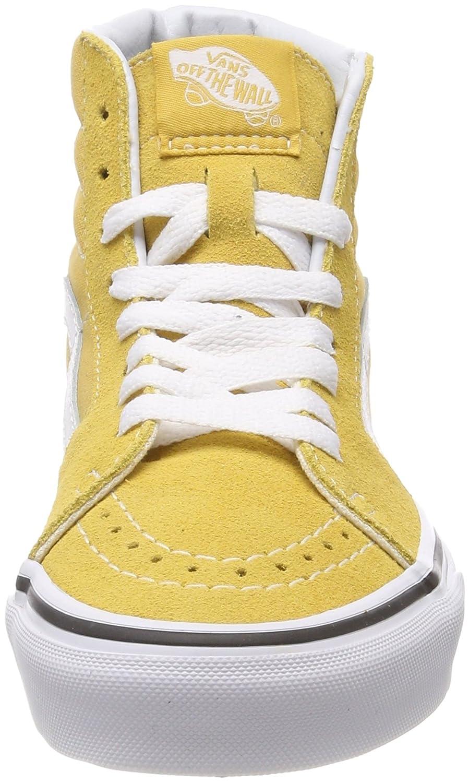 Vans SK8 Hi Cuero amarillo