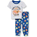 6770d7db336d Amazon.com  The Children s Place Baby Mom Dinosaur 2 Piece Pajamas ...
