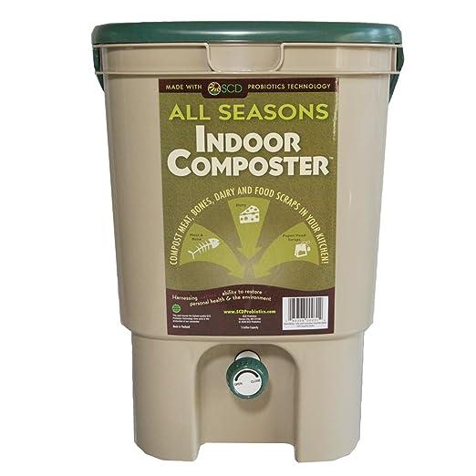 Scd Probiotics B100 todas las estaciones Interior composter- 1 ...